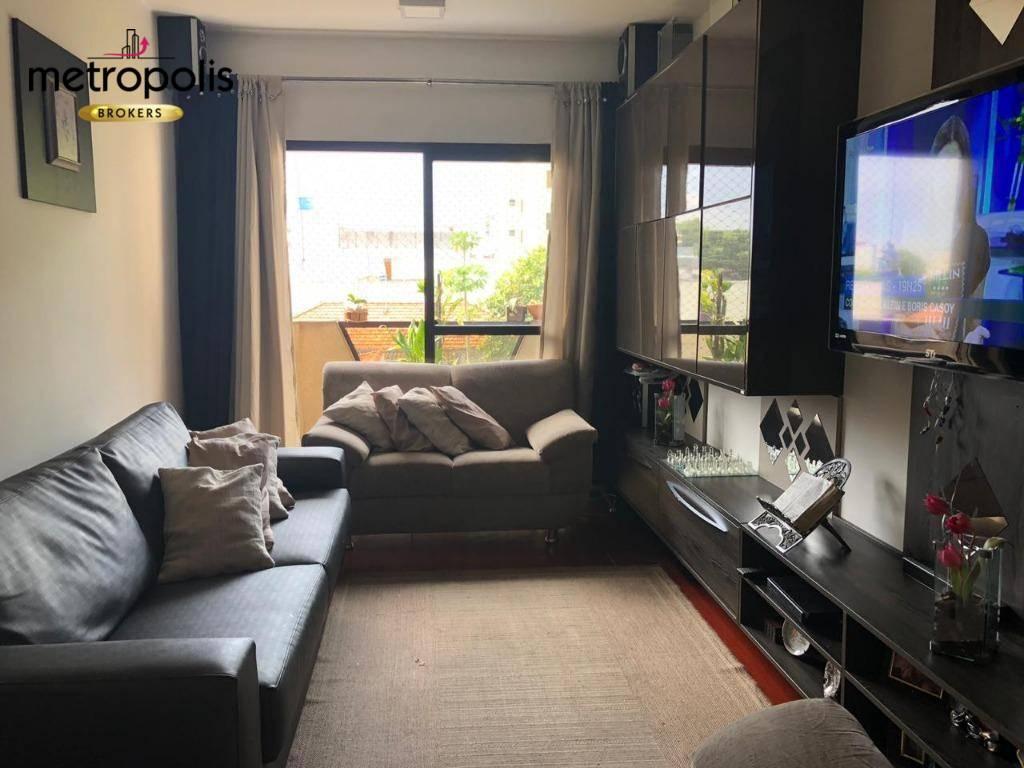 Cobertura à venda, 140 m² por R$ 630.000,00 - Santa Maria - São Caetano do Sul/SP