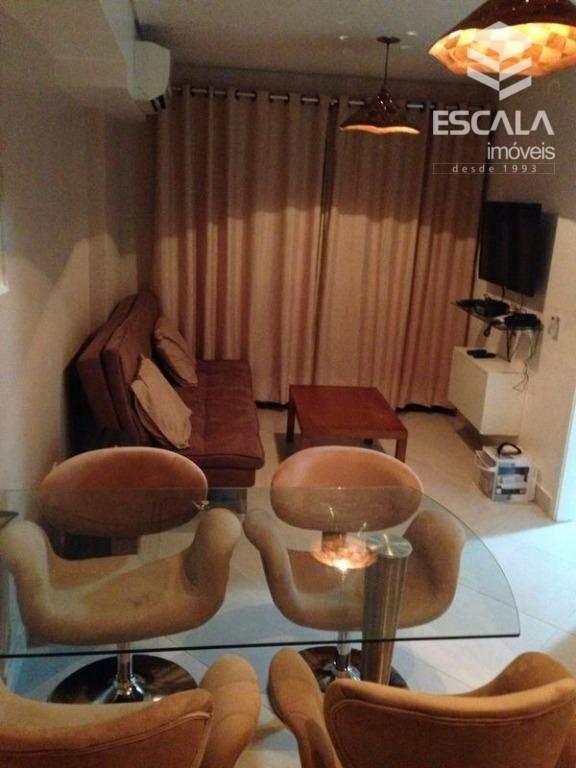 Apartamento com 1 dormitório para alugar, 40 m² por R$ 200/dia - Meireles - Fortaleza/CE