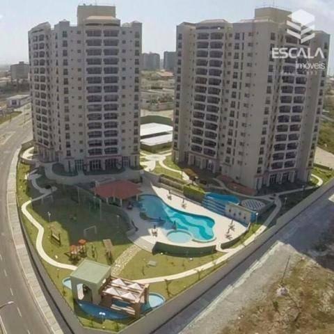 Apartamento com 3 quartos à venda, 78 m², área de lazer, financia - Dunas - Fortaleza/CE