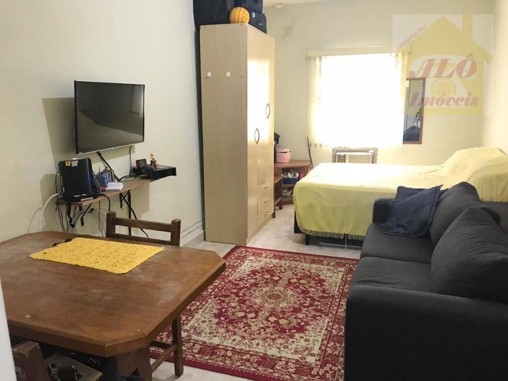 Kitnet com 1 dormitório à venda, 30 m² por R$ 99.000 - Vila Guilhermina - Praia Grande/SP