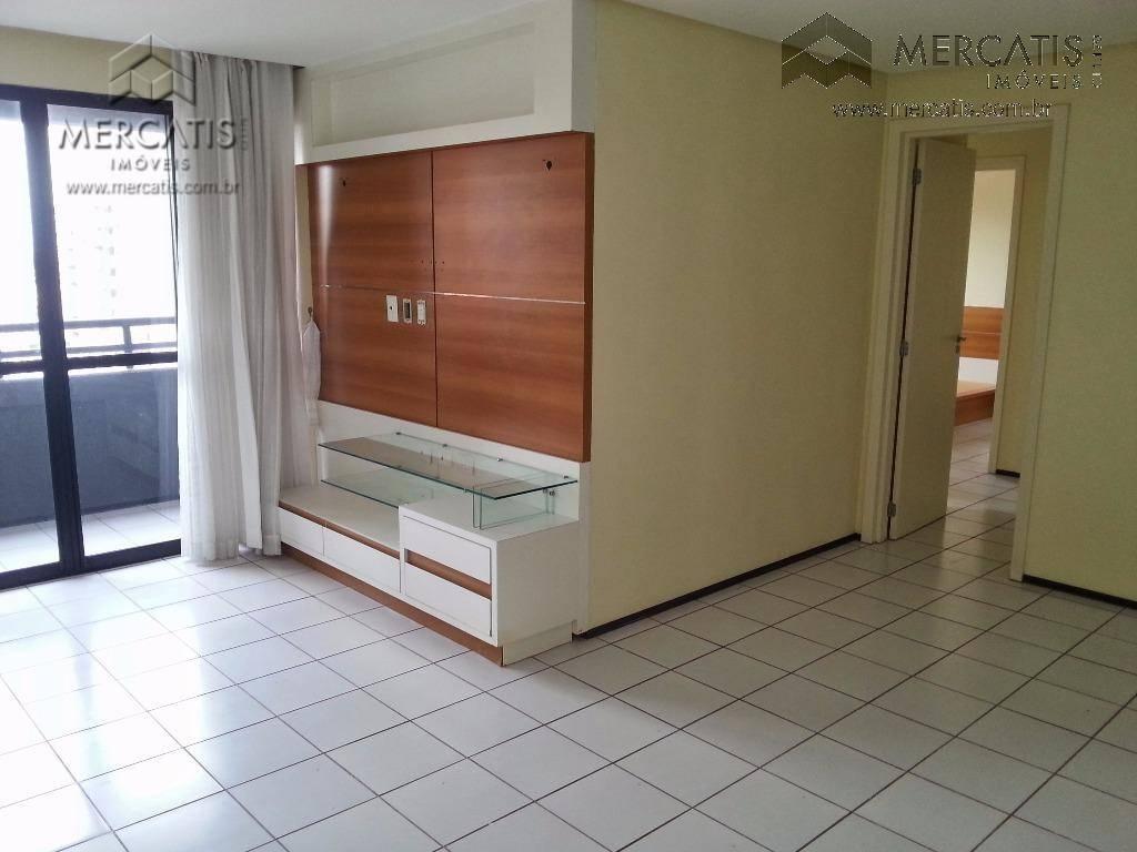 ed. cervantesunidade 1324 - bloco bapartamento com sala, varanda, 3 quartos sendo 1 suíte com closet,...