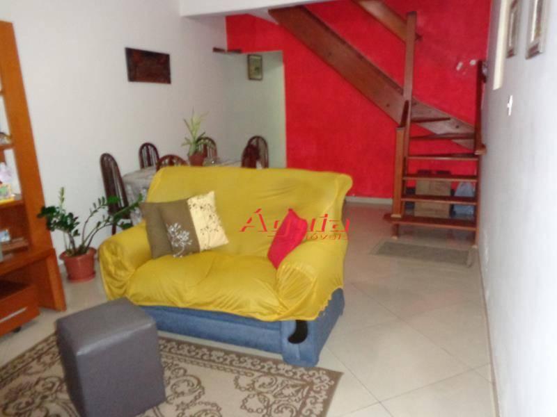 Sobrado Residencial à venda, Jardim Santo Antônio, Santo André - SO0270.