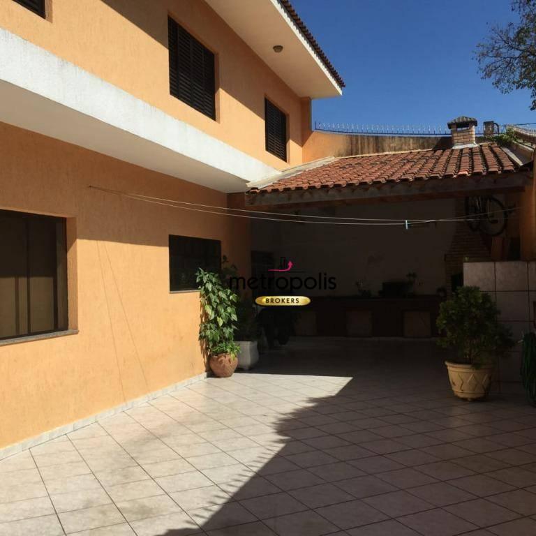Sobrado com 4 dormitórios à venda, 254 m² por R$ 630.000 - Vila Palmares - Santo André/SP