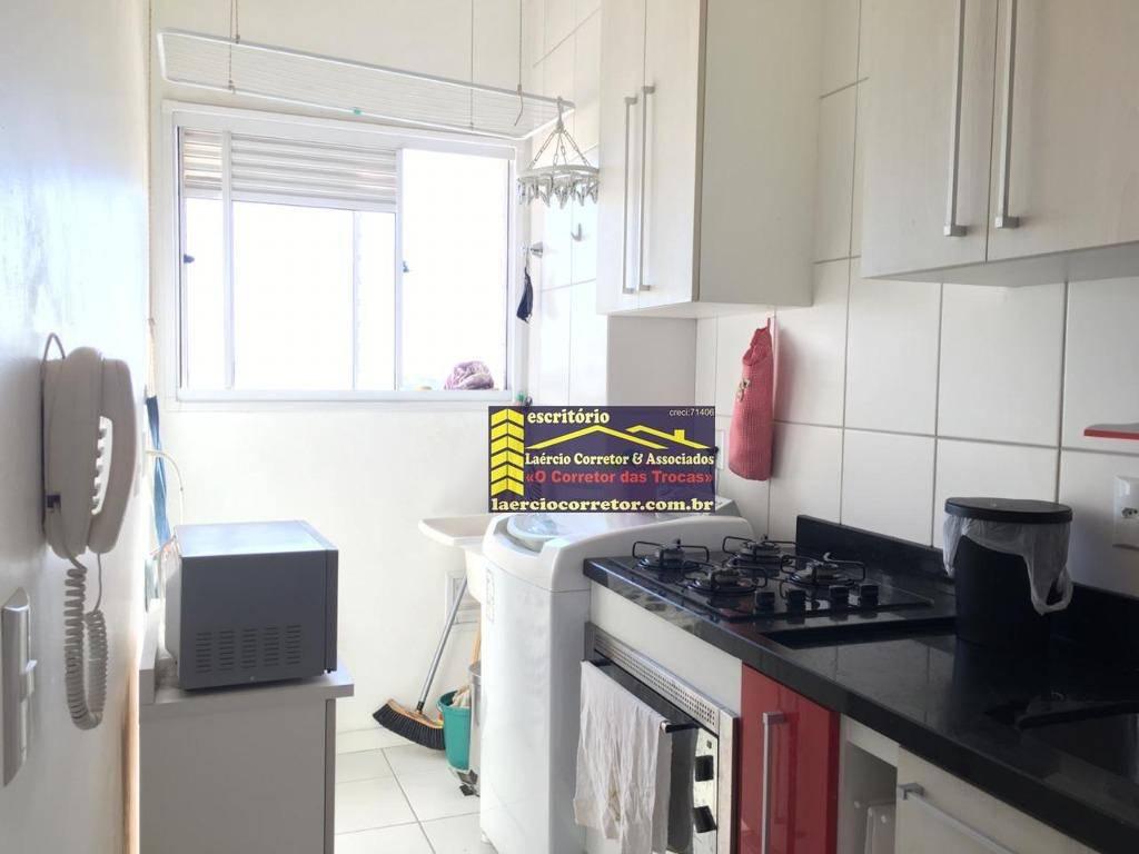Apartamento com 2 dormitórios à venda, 44 m² por R$ 220.000,00 - Condomínio Mais Campos Salles - Valinhos/SP