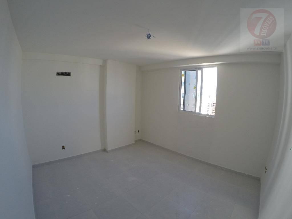 Apartamento residencial à venda, Bessa, João Pessoa - AP0367