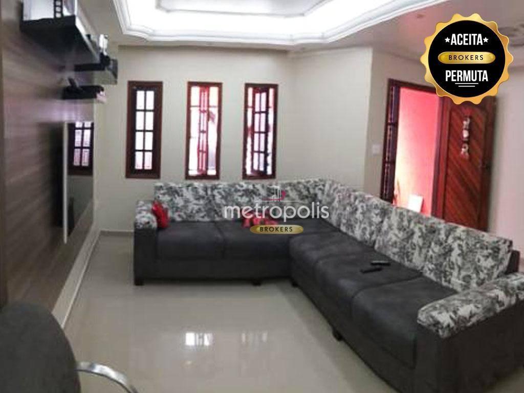 Sobrado com 3 dormitórios à venda, 197 m² por R$ 450.000 - Parque Selecta - São Bernardo do Campo/SP