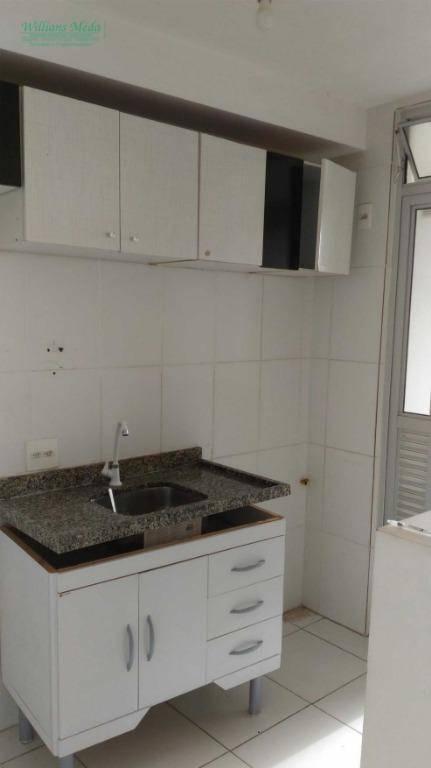 Apartamento com 2 dormitórios para alugar por R$ 1.000/mês - Picanco - Guarulhos/SP