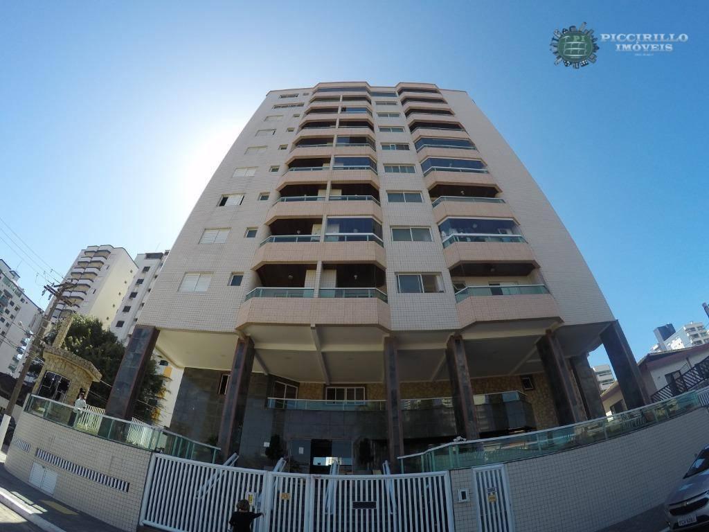 Apartamento com 2 dormitórios à venda, 70 m² por R$ 266.000,00 - Vila Guilhermina - Praia Grande/SP