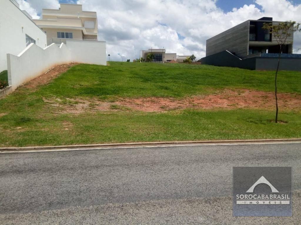 Terreno à venda, 413 m² por R$ 350.000 - Alphaville Nova Esplanada I - Votorantim/SP, próximo ao Shopping Iguatemi.
