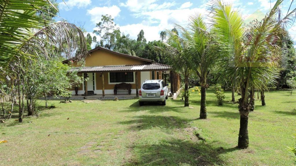 Chácara com 2 dormitórios à venda, 3000 m² por R$ 380.000 - Cidade Nova Peruibe - Peruíbe/SP