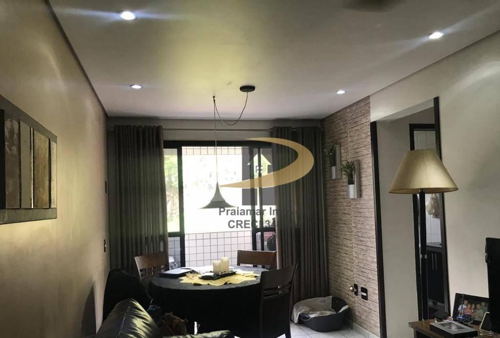 Apartamento com 1 dormitório à venda, 52 m² por R$ 248.000 - Itararé - São Vicente/SP