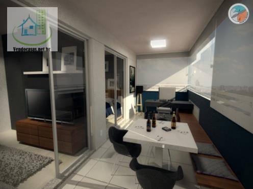 Apartamento de 1 dormitório à venda em Santo Amaro, São Paulo - SP