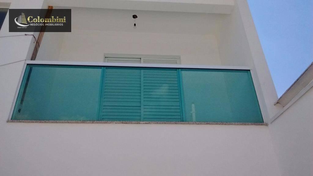 Sobrado residencial à venda, Olímpico, São Caetano do Sul.