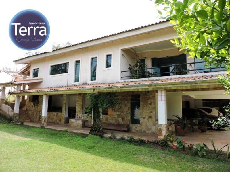 Casa residencial para venda e locação, Chácara Vale do Rio Cotia, Granja Viana.
