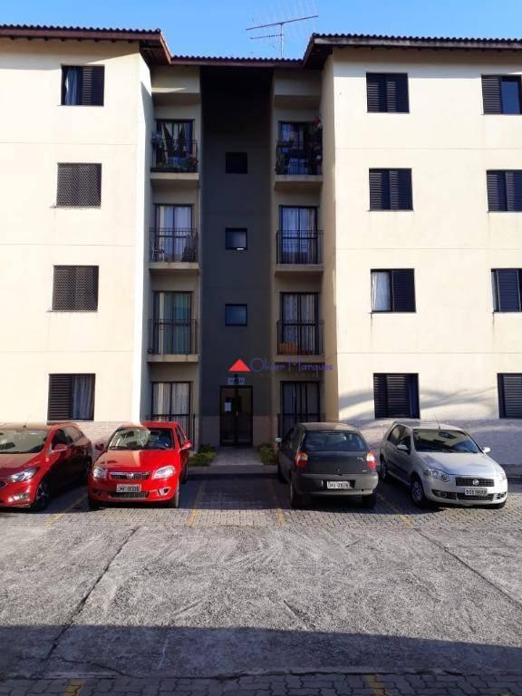 Apartamento com 2 dormitórios à venda, 52 m² por R$ 196.100 - Carapicuíba - Carapicuíba/SP