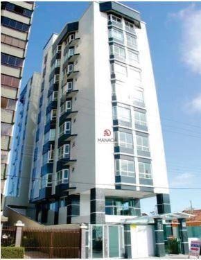Apartamento com 2 dormitórios à venda, 64 m² por R$ 430.000 - Centro - Balneário Piçarras/SC