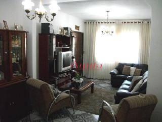 Sobrado residencial à venda, Parque Jaçatuba, Santo André - SO0045.