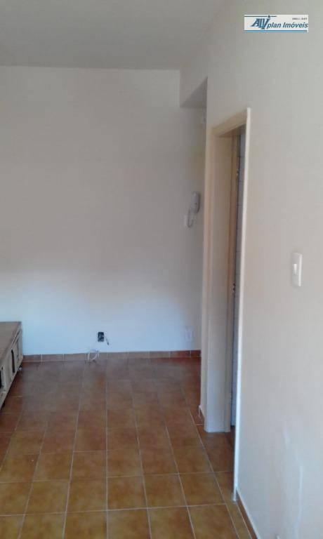Kitnet com 1 dormitório à venda, 45 m² por R$ 220.000 - Gonzaga - Santos/SP