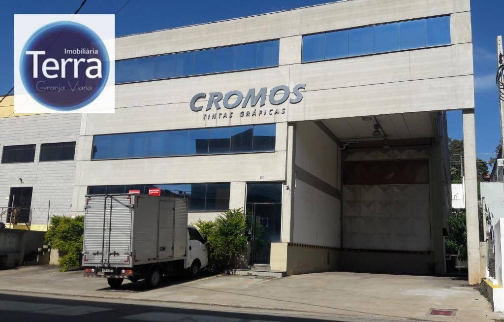 Galpão à venda, 1370 m² por R$ 4.000.000 - Centro Empresarial Capuava - Granja Viana -Cotia/SP
