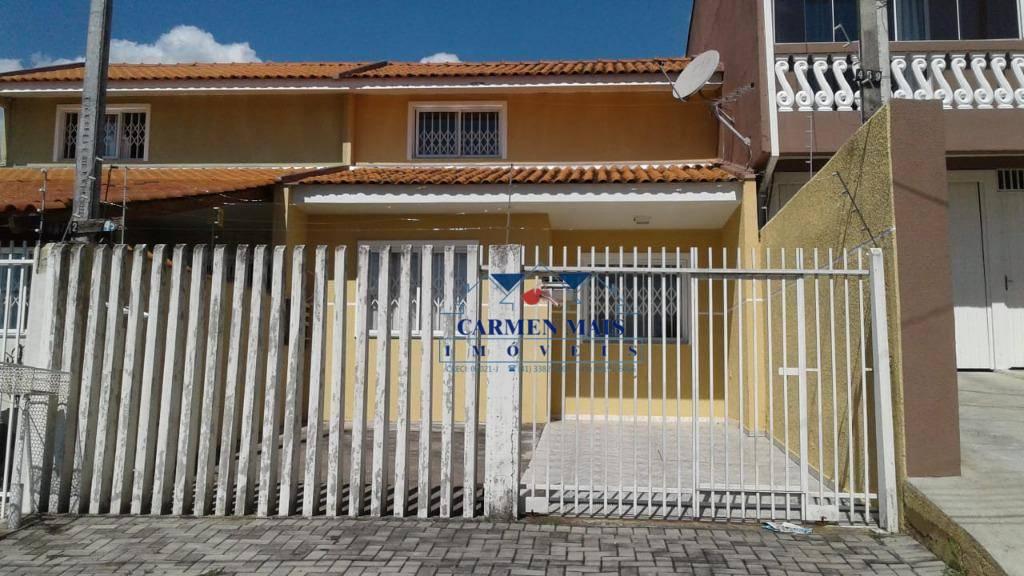 Sobrado com 3 dormitórios à venda, 78 m² por R$ 320.000 - Ci