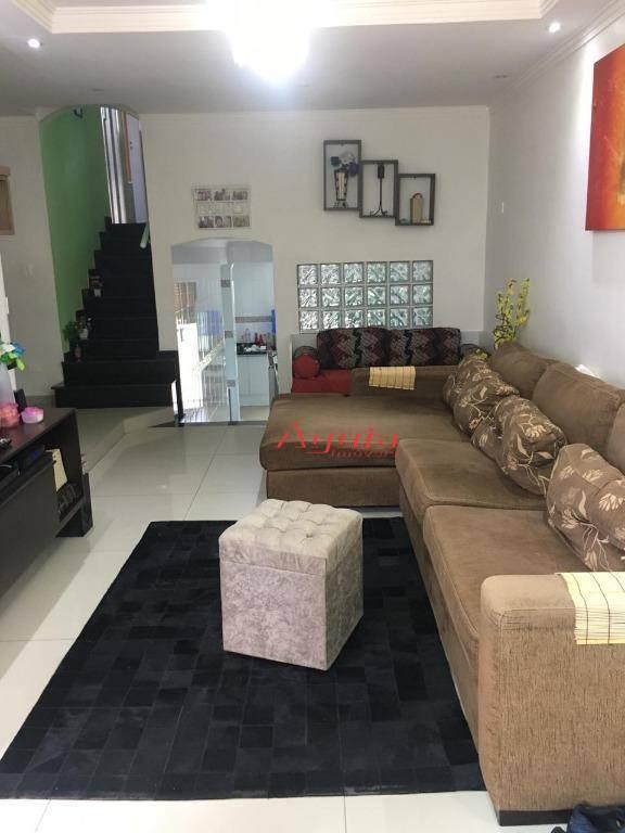 Casa à venda, 155 m² por R$ 580.000,00 - Parque Jaçatuba - Santo André/SP