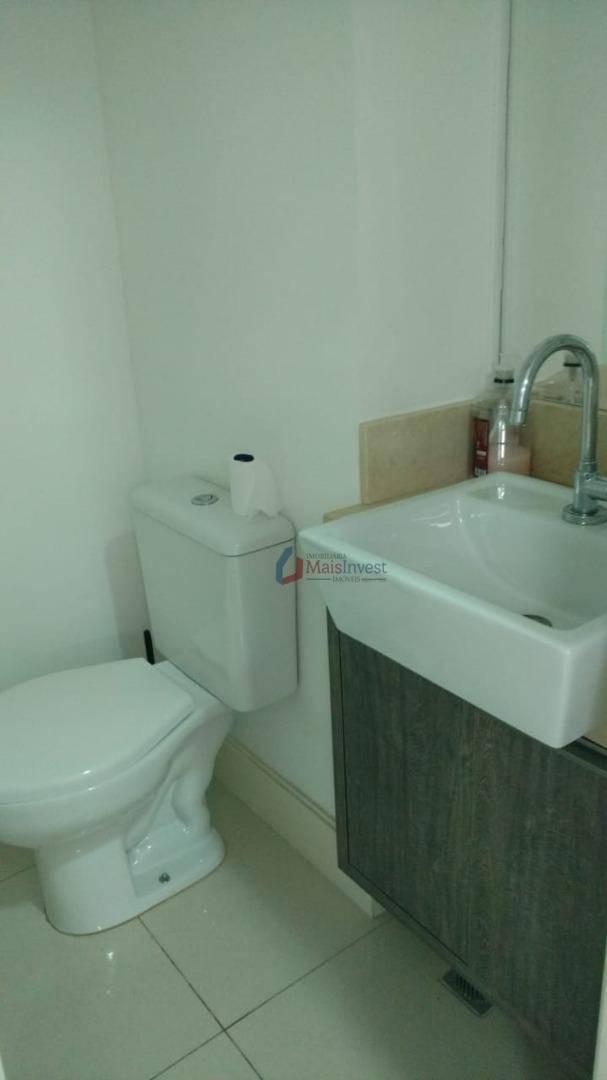 Sala para alugar, 63 m² por R$ 3.000/mês - Centro Cívico - Curitiba/PR