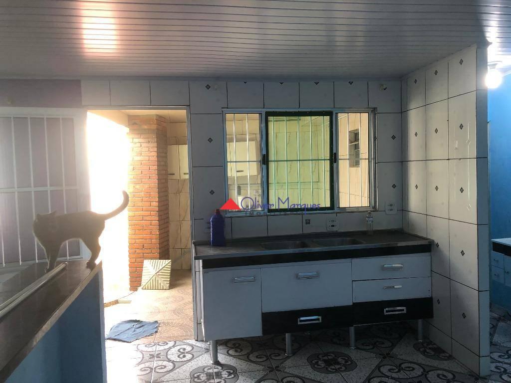 Casa para alugar, 60 m² por R$ 1.000,00/mês - Bussocaba - Osasco/SP