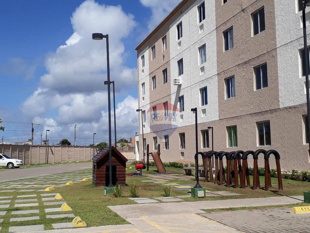 Apartamento residencial à venda, Barra de Jangada, Jaboatão dos Guararapes.