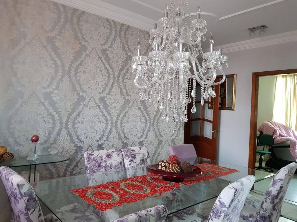 Apartamento com 3 suites à venda ou locação, 195 m² - Jardim - Santo André/SP