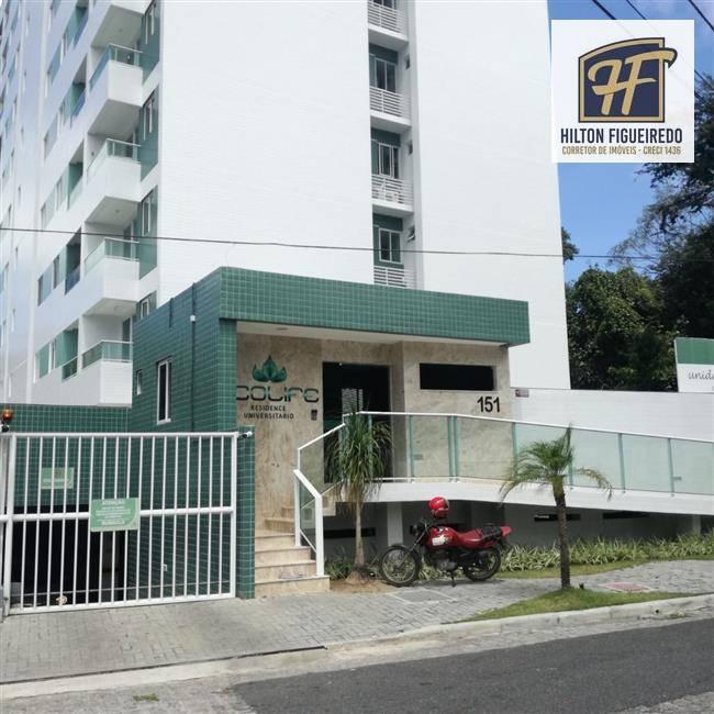 Apartamento com 2 dormitórios para alugar, 55 m² por R$ 1.375/mês - Castelo Branco - João Pessoa/PB