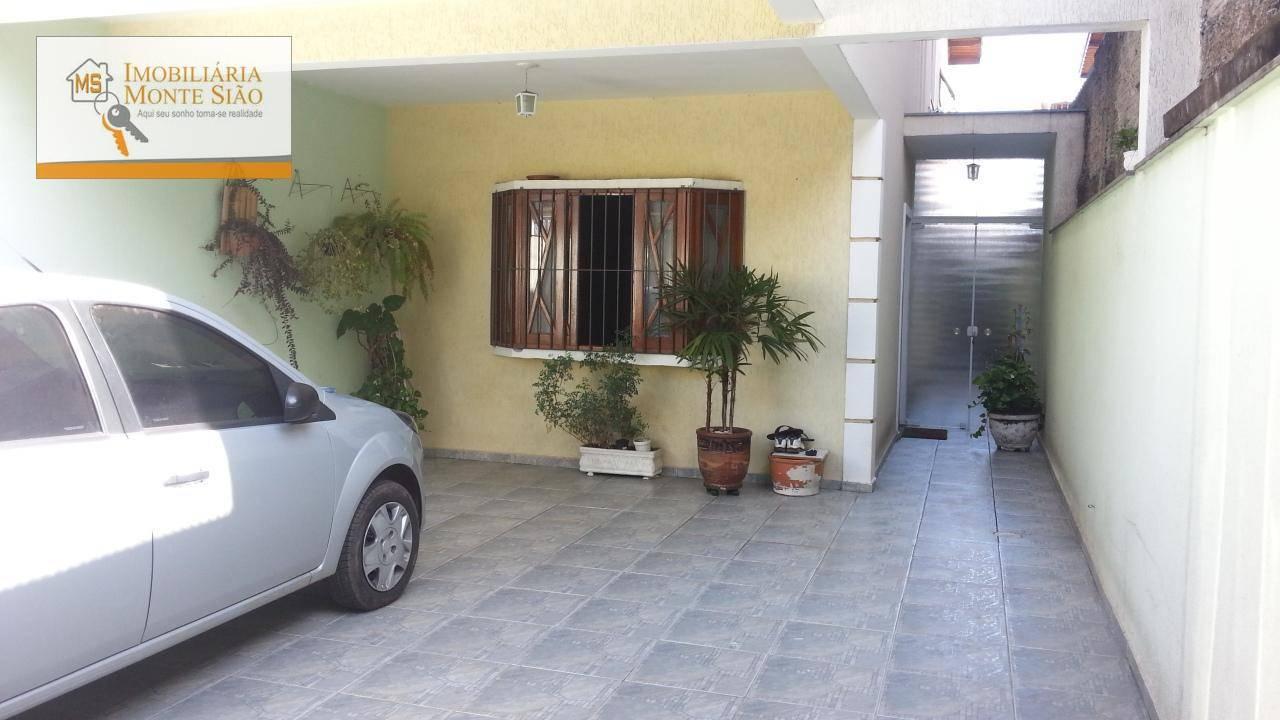 Sobrado com 3 dormitórios à venda, 140 m² por R$ 480.000 - Jardim Santa Clara - Guarulhos/SP