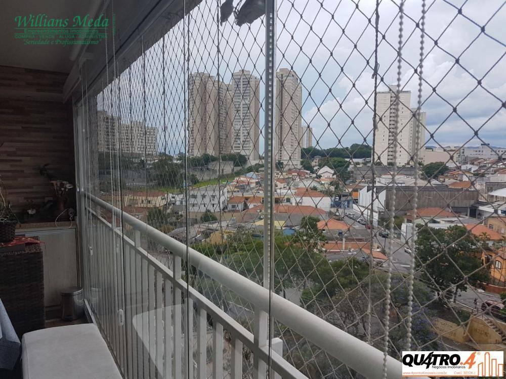 Apartamento residencial à venda, 3 dormitórios, 3 suítes, 3