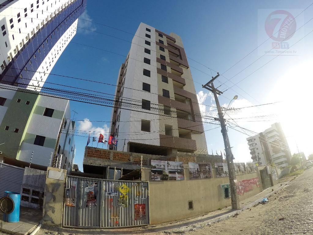 Apartamento residencial à venda, Bessa, João Pessoa - AP0542