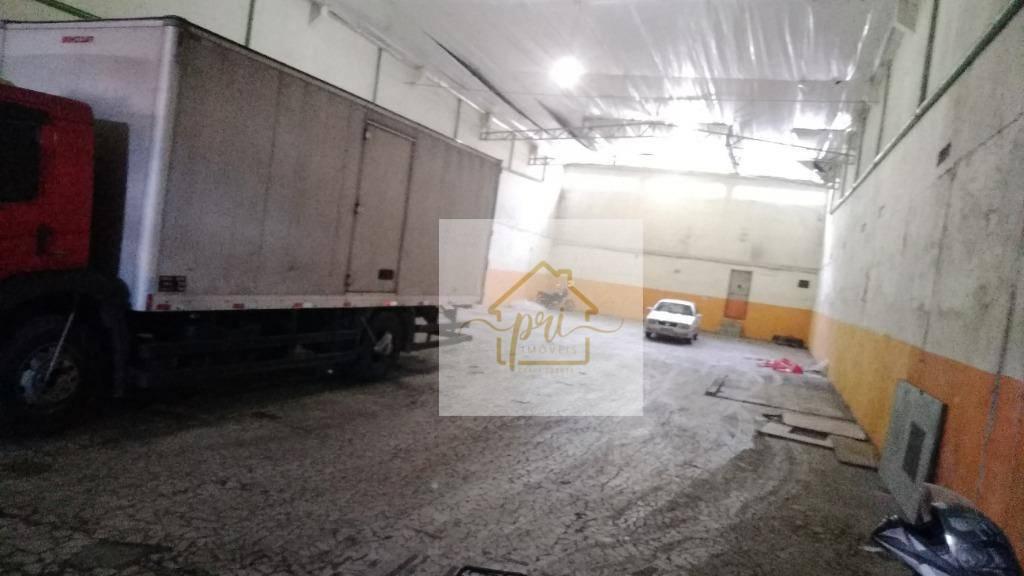 Galpão à venda, 571 m² por R$ 1.800.000,00 - Valongo - Santos/SP