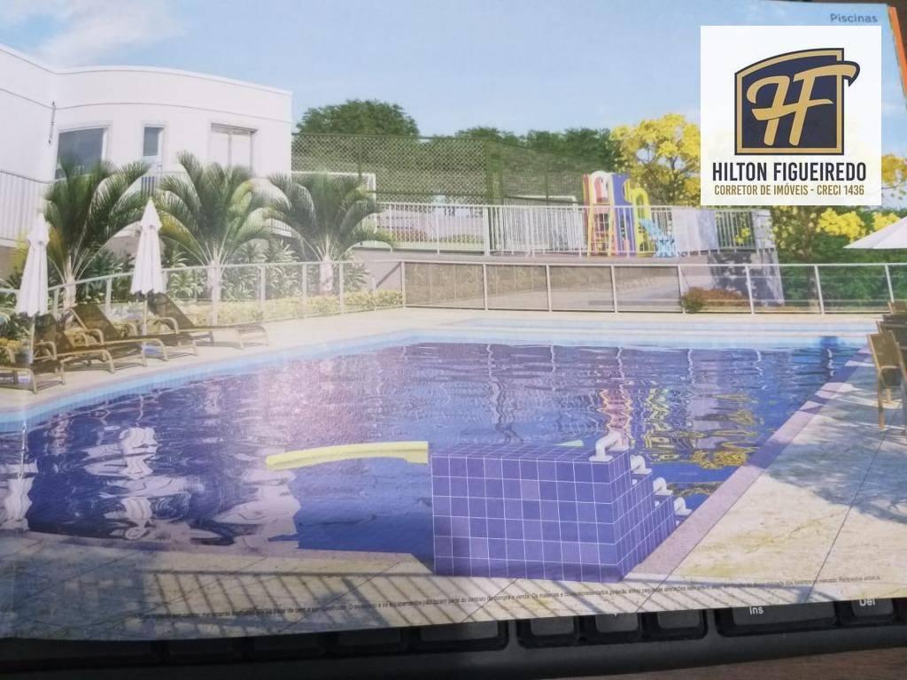 Apartamento com 2 dormitórios à venda, 44 m² por R$ 133.000 - Portal do Sol - João Pessoa/PB
