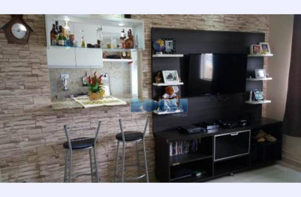 Apartamento com 1 dormitório à venda, 50 m² por R$ 245.000 - Mooca - São Paulo/SP