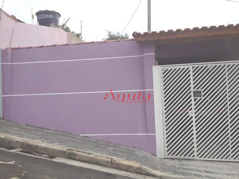 Casa residencial à venda, Vila Humaitá, Santo André - CA0135.