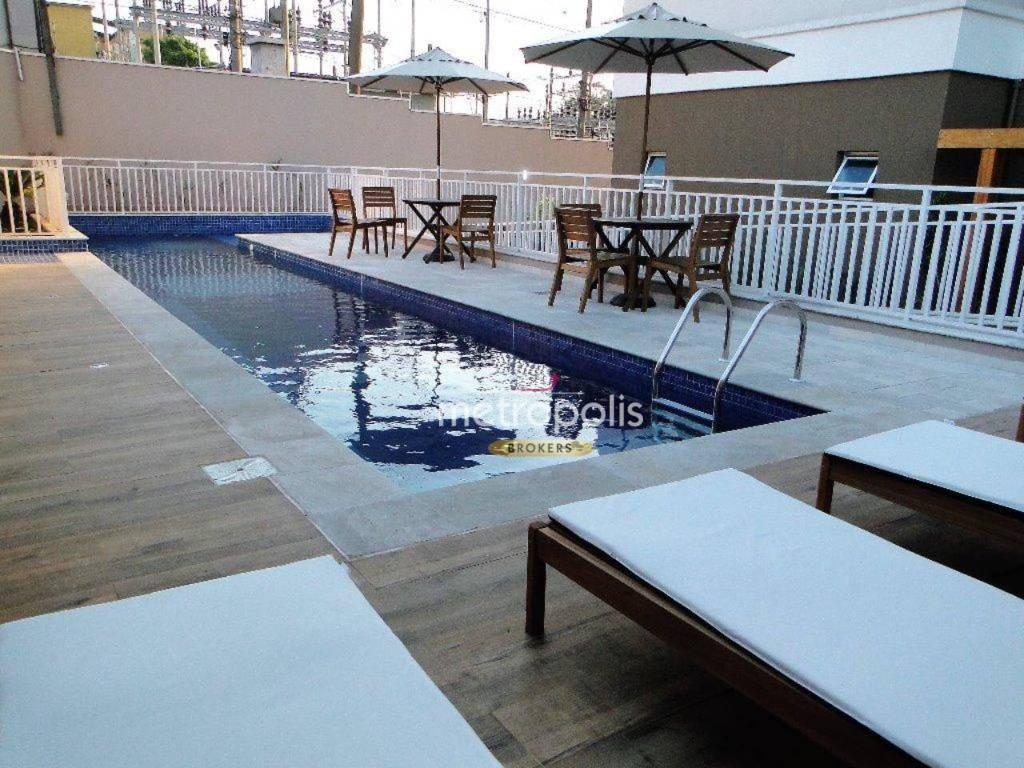 Apartamento para alugar, 44 m² por R$ 1.200,00/mês - Paulicéia - São Bernardo do Campo/SP