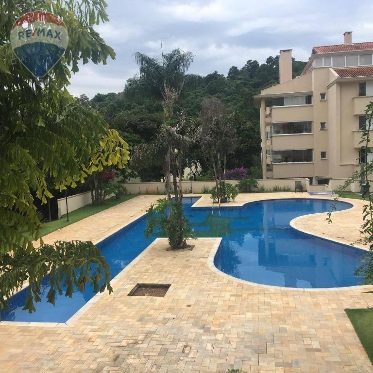 Apartamento em Atibaia com 4 dormitórios para alugar, 380 m² por R$ 5.000/mês - Vila Petrópolis - Atibaia/SP