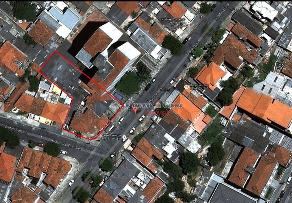 Terreno à venda, 1000 m² por R$ 2.200.000 - Aclimação - São