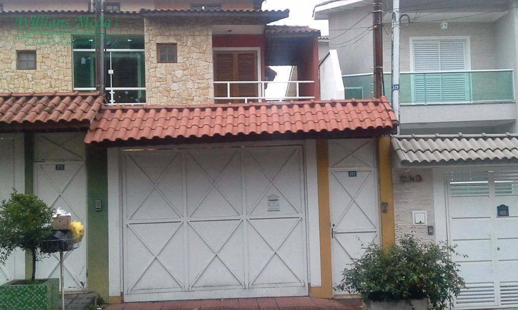 Sobrado com 3 dormitórios à venda, 190 m² por R$ 800.000 - Jardim Vila Galvão - Guarulhos/SP