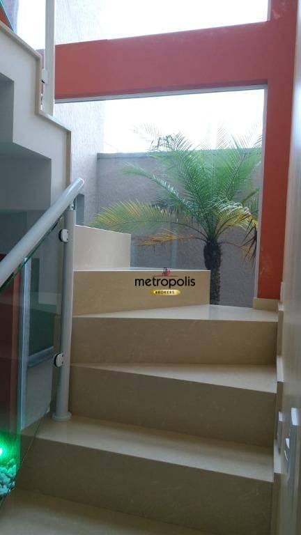 Sobrado com 3 dormitórios à venda, 240 m² por R$ 900.000 - Parque das Nações - Santo André/SP