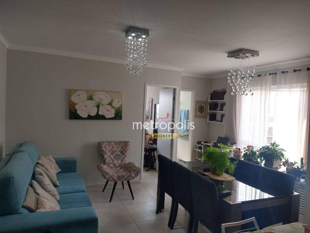 Apartamento com 1 dormitório à venda, 45 m² por R$ 330.000,00 - Nova Gerti - São Caetano do Sul/SP