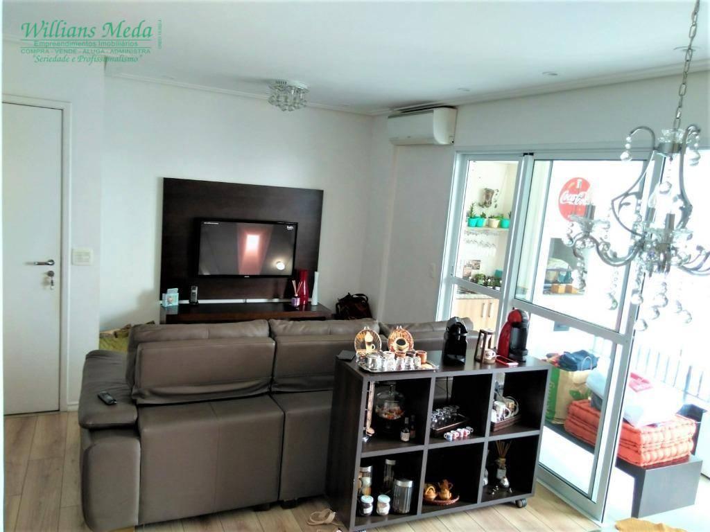 Apartamento com 3 dormitórios à venda, 88 m² por R$ 550.000 - Vila Moreira - Guarulhos/SP