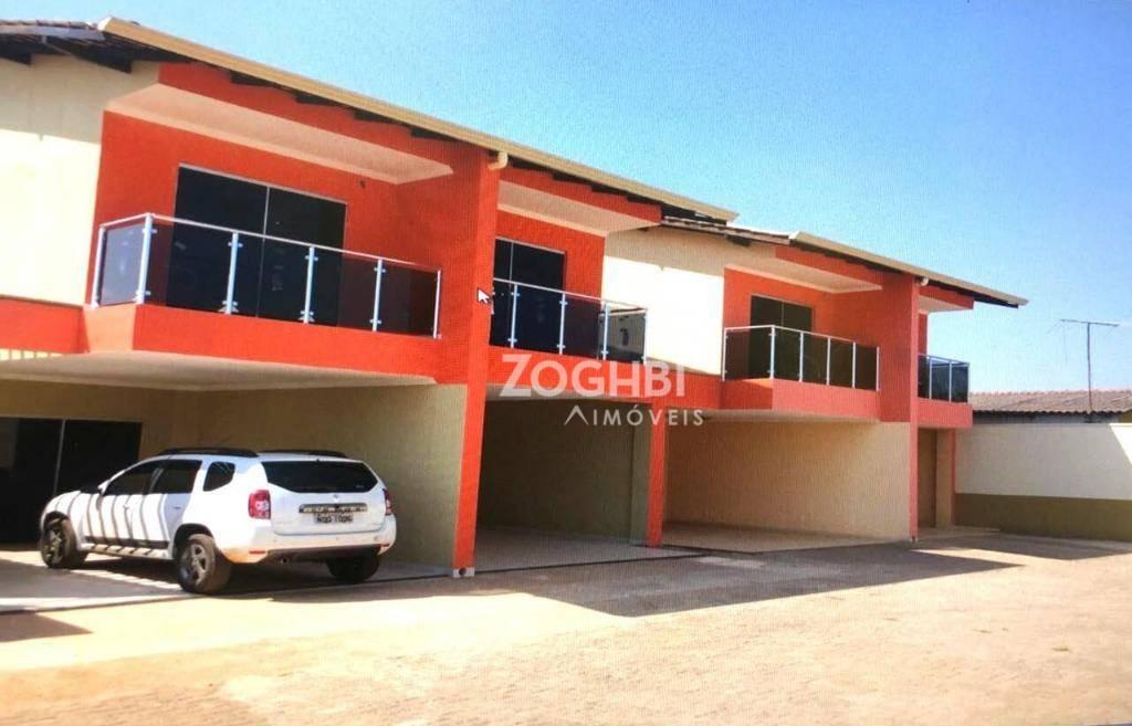 Sobrado residencial à venda, Escola de Polícia, Porto Velho - SO0111.