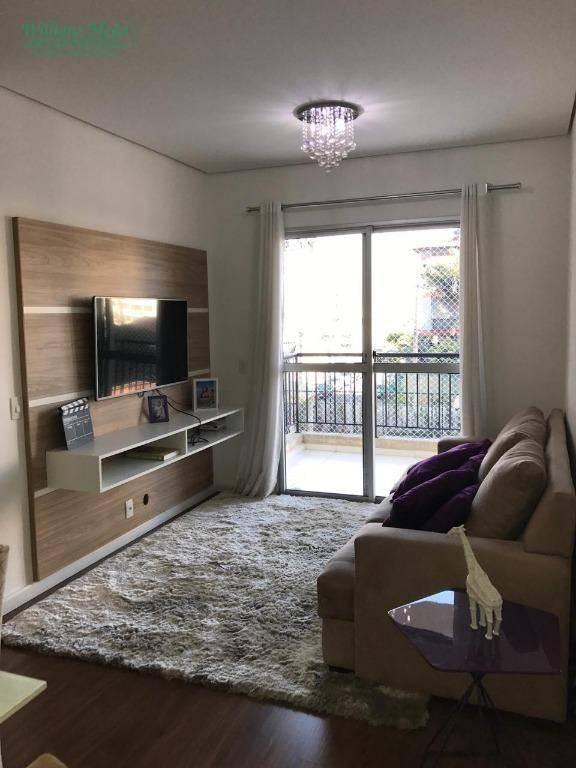 Apartamento Garden com 3 dormitórios à venda, 94 m² por R$ 420.000 - Picanco - Guarulhos/SP