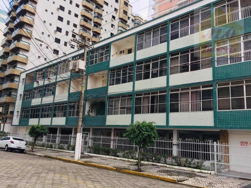 Kitnet com 1 dormitório à venda, 35 m² por R$ 140.000 - Canto do Forte - Praia Grande/SP