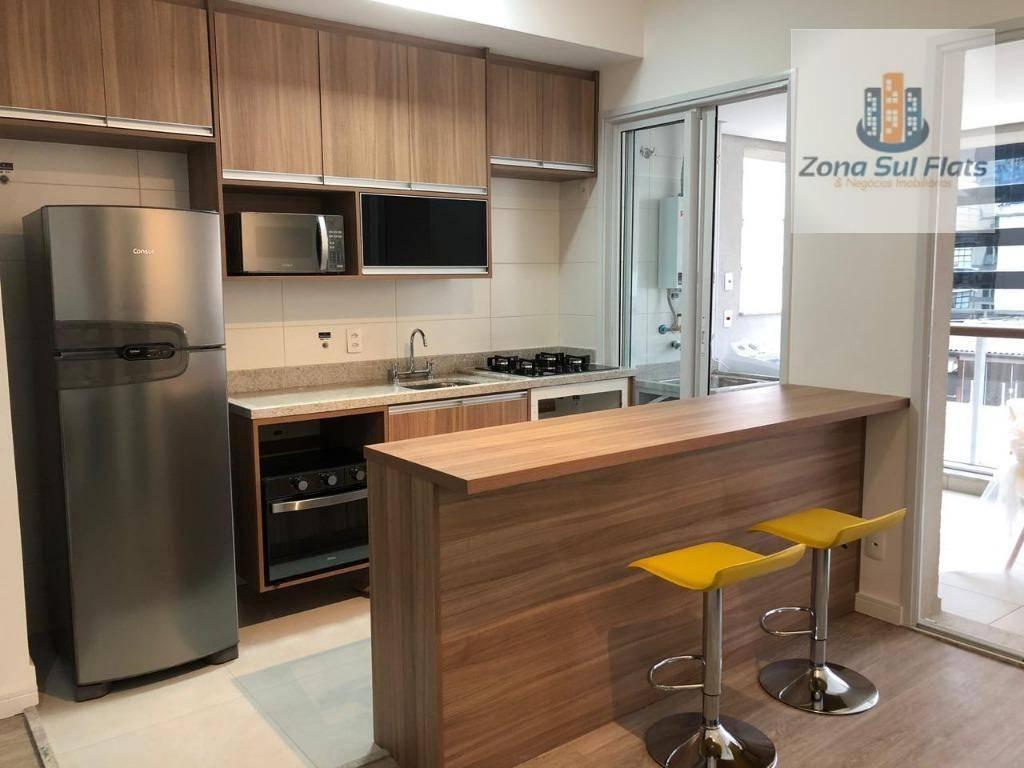 Apartamento Para Venda/Locação Na Vila Olímpia I 1 Suíte I Sala 2 Ambientes I Varanda I 1 Vaga I 52m²