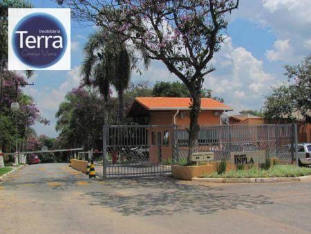 Terreno residencial à venda, Recanto Inpla, Granja Viana.