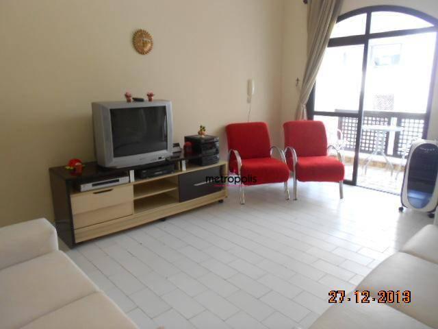 Apartamento residencial à venda, Jardim Ana Maria, Guarujá.